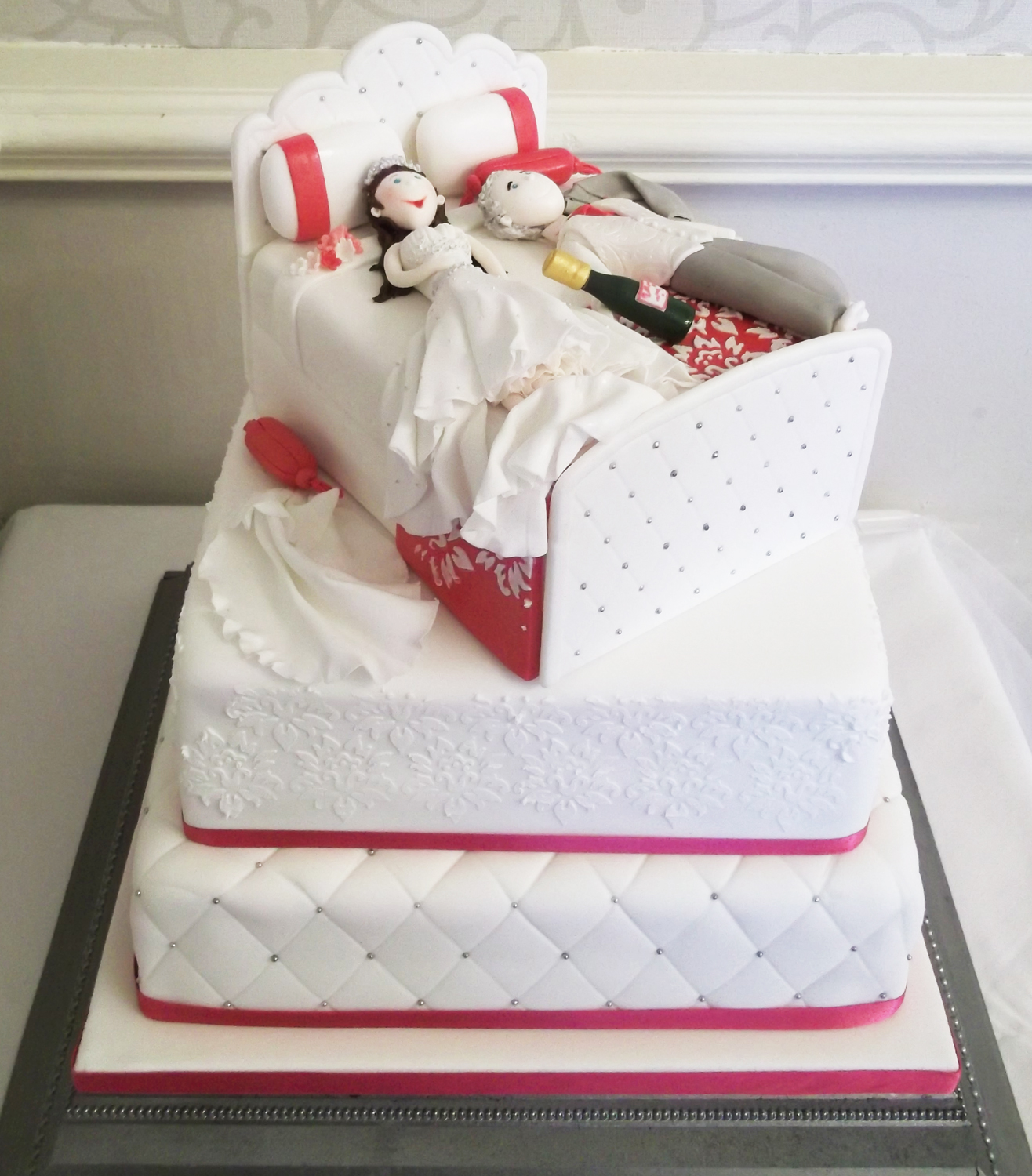 Sam Wedding Cake.Gallery Jayneycakes