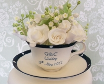 Calie Cup and Saucer